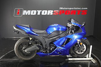 2008 Kawasaki Ninja ZX-6R for sale 200597538